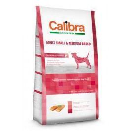 Calibra Dog GF Adult Medium & Small Salmon 12kg NEW + Doprava zdarma