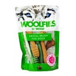 Pochoutka dentální Woolfies Dental Brush M 200g