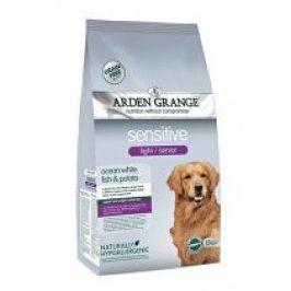 Arden Grange Dog Adult Light Sensitive White Fish 12kg