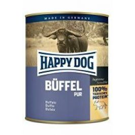 Happy Dog konzerva Buffel Pur buvolí 800g