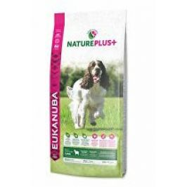 Eukanuba Dog Nature Plus+ Adult Med. froz Lamb 2,3kg