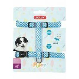Obojek pes štěně PIXIE nastavitelný modrý 13mm Zolux