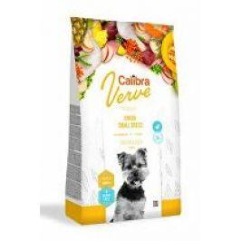 Calibra Dog Verve GF Junior Small Chicken&Duck 6kg +malé balení zdarma