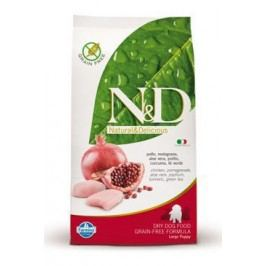 N&D Grain Free DOG Puppy Large Chicken & Pomegr 2,5kg