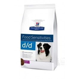 Hill's Can. D/D Dry Duck&Rice 12kg