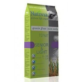 Nativia Dog Senior&Light 15kg + Množstevní sleva