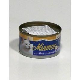 Miamor Cat Filet konzerva tuňák+kalamáry100g