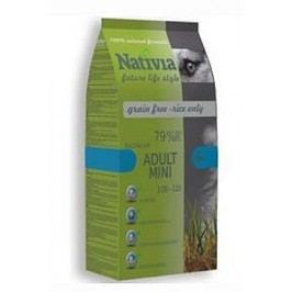 Nativia Dog Adult Mini Duck&Rice 3kg + Množstevní sleva
