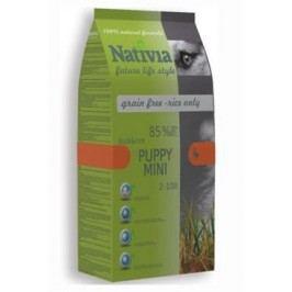 Nativia Dog Puppy Mini Duck&Rice 3kg + Množstevní sleva