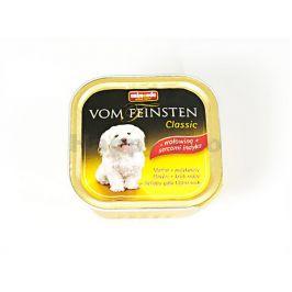 Paštika VOM FEINSTEN Classic hovězí a krůtí 150g (pes)