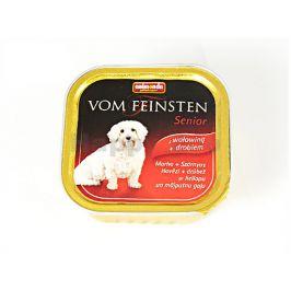 Paštika VOM FEINSTEN Senior hovězí a kuřecí 150g (pes)