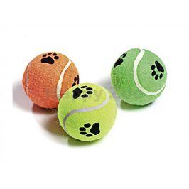 Hračka FLAMINGO - tenisák pískací 6cm (3ks)