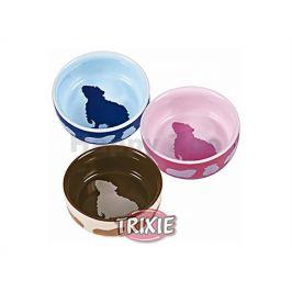 Keramická miska TRIXIE pro morčata barevná 250ml (11cm) (MIX BAR