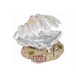 Dekorace TRIXIE - vzduchovací mušle s perlou bílá 9cm
