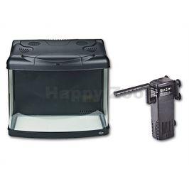 Akvarijní set HAILEA FA400-B (65l) černý, 48x36x42,8cm
