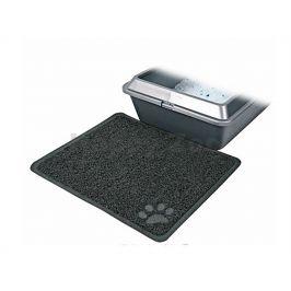 Obdélníková gumová předložka TRIXIE k toaletám šedá 37x45cm