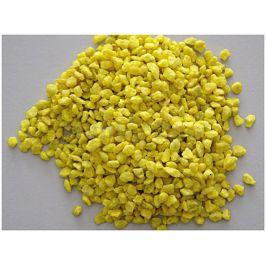 Akvarijní štěrk žlutý 2l