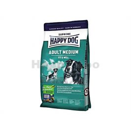 HAPPY DOG Supreme Fit and Well Adult Medium 4kg