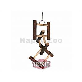 Závěsná hračka TRIXIE dřevěný rozřezaný žebřík 12 příček (50cm)