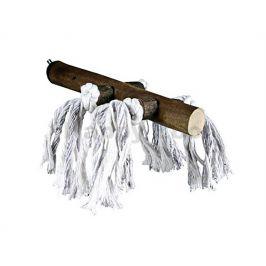 Dřevěné bidýlko TRIXIE s bavlnou malé 20cm