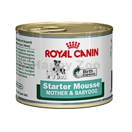 Konzerva ROYAL CANIN Mini Mother & Babydog Starter Mousse 195g