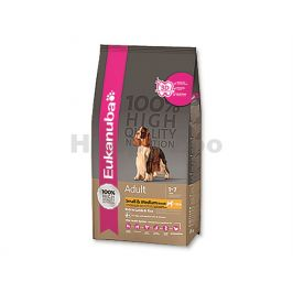 EUKANUBA Adult Small & Medium Breed Lamb 2,5kg