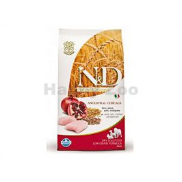 N&D Low Grain Dog Adult Medium/Maxi Chicken & Pomegranate 12kg