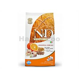 N&D Low Grain Dog Adult Mini Codfish & Orange 800g