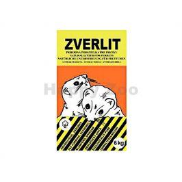 ZVERLIT pro fretky 6kg (žlutohnědý)
