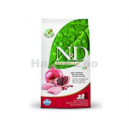 N&D Grain Free Dog Adult Mini Chicken & Pomegranate 800g