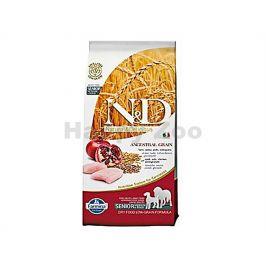 N&D Low Grain Dog Senior Medium/Maxi Chicken & Pomegranate 12kg