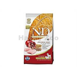 N&D Low Grain Dog Senior Small/Medium Chicken & Pomegranate 2,5k