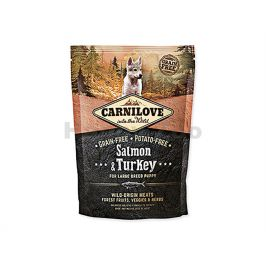 CARNILOVE Dog Salmon & Turkey for Large Breed Puppy 1,5kg