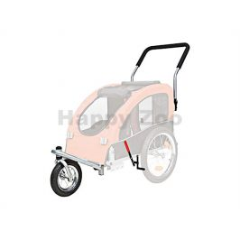 TRIXIE přední kolo a držadlo k vozíku (M) (konverze na běhání)