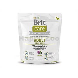 BRIT CARE Adult Small Breed Lamb & Rice 1kg