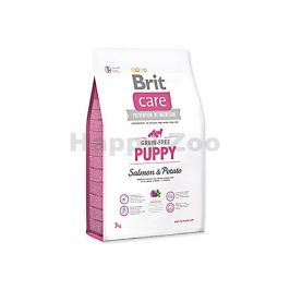 BRIT CARE Grain-Free Puppy Salmon & Potato 3kg