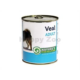 Konzerva NATURE´S PROTECTION Dog Adult telecí 800g