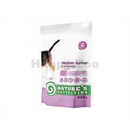 NATURE´S PROTECTION Dog Junior Medium 500g