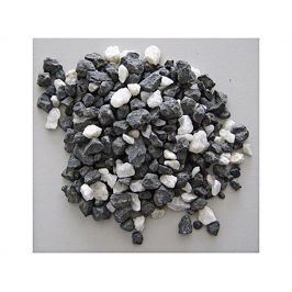 Akvarijní štěrk černobílý 2l