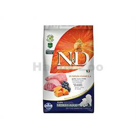 N&D Grain Free Pumpkin Dog Puppy Medium/Maxi Lamb & Blueberry 2,