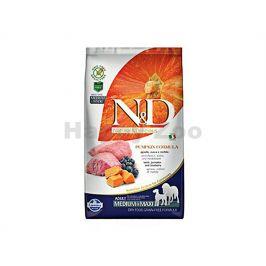 N&D Grain Free Pumpkin Dog Adult Medium/Maxi Lamb & Blueberry 2,