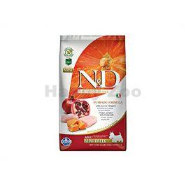 N&D Grain Free Pumpkin Dog Adult Mini Chicken & Pomegranate 2,5k