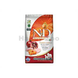 N&D Grain Free Pumpkin Dog Adult Medium/Maxi Chicken & Pomegrana