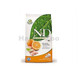 N&D Grain Free Dog Adult Mini Fish & Orange 7kg