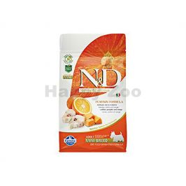 N&D Grain Free Ocean Dog Adult Mini Codfish & Pumpkin & Orange 8
