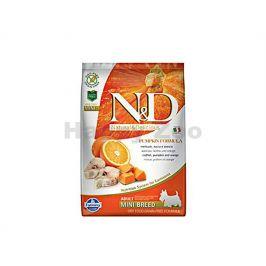 N&D Grain Free Pumpkin Dog Adult Mini Codfish & Orange 7kg