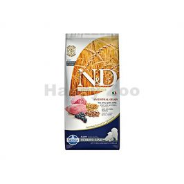 N&D Low Grain Dog Puppy Medium/Maxi Lamb & Blueberry 12kg