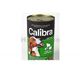 Konzerva CALIBRA Dog Premium Lamb, Beef and Chicken 1240g