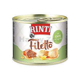 Konzerva RINTI Filetto - kuře a kachna ve šťávě 210g