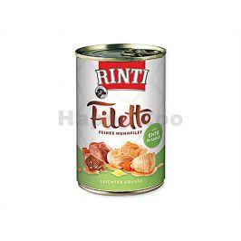 Konzerva RINTI Filetto - kuře a kachna ve šťávě 420g
